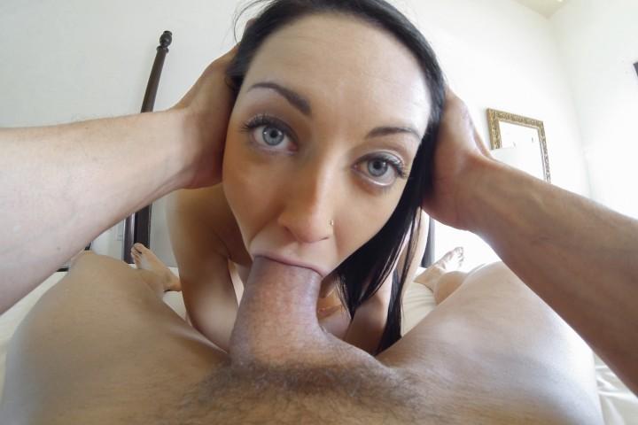 Sabrina Banks POV Blowjob